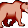 Foto de Stock  : Big Brown Bear