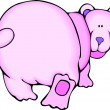 Stock Photo: Pink Bear
