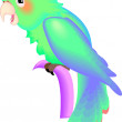Stock Photo: Colorful Parrot
