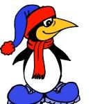 Colorful Penguin — Stock Photo