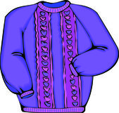 Sweater — Stockvector