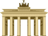 Brandenburg Gate — Stock Vector