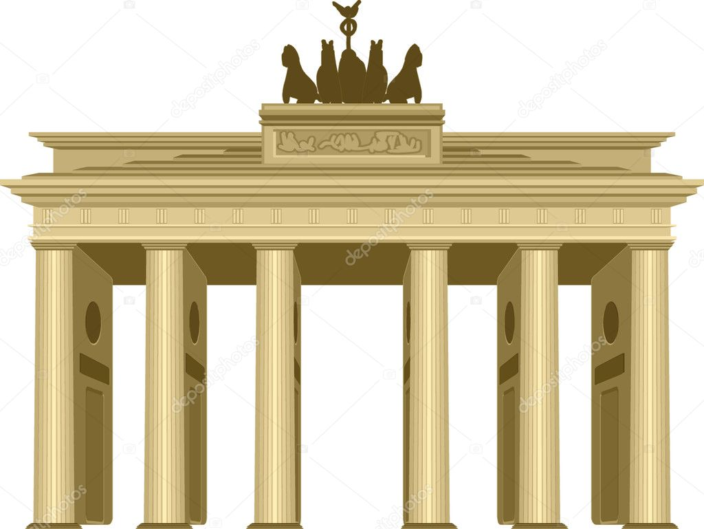 Brandenburg Gate — Stock Vector #4329362