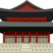 Royal Palace - Seoul Korea — Stock Vector #4330284