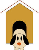 Doghouse Design — Stock Vector