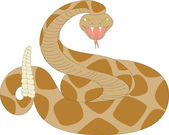 Rattlesnake — Stock Vector