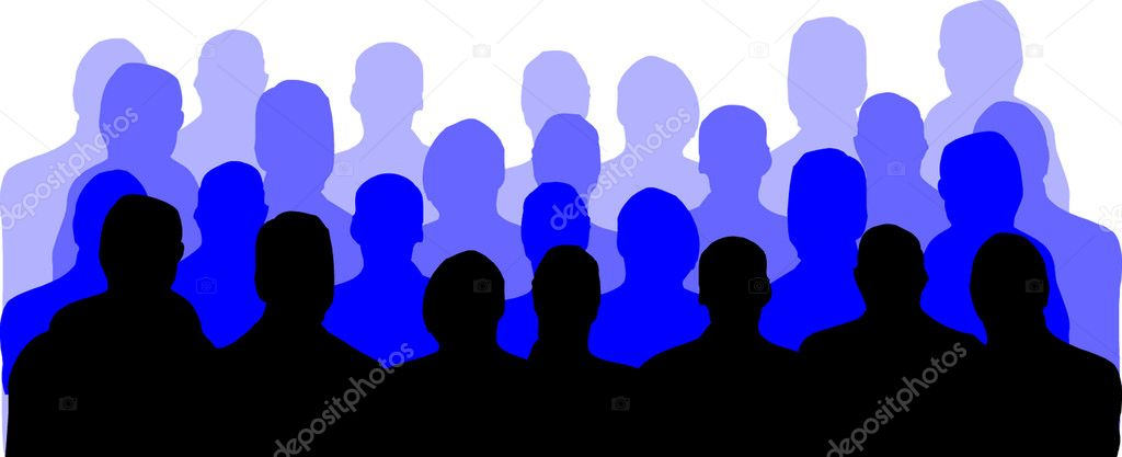 Audience  — Stock Vector #4379007