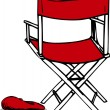 Royalty-Free Stock Vector Image: Director\'s Chair & Matching Hat