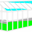 Stock Vector: Greenhouse