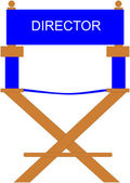 Director's Chair — Stock Vector