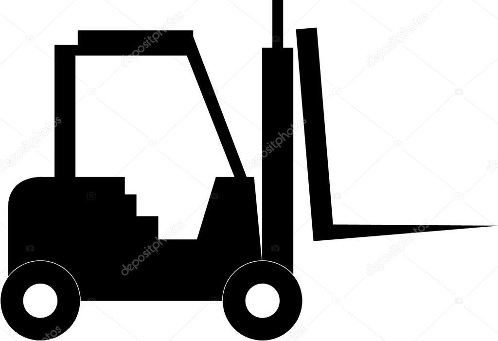 叉车— 图库矢量图像08
