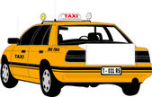 Taxicab — Stock Vector