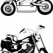 Motorcycle Collection - Zdjcie stockowe