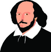 Shakespear — Stock Vector