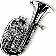 Royalty-Free Stock Vector Image: Small Tuba