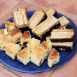 Stock Photo: Cookies - variety of cookies on plate homemade