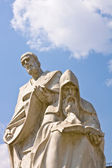 Monument of Saints Cyril and Methodius — Stock Photo