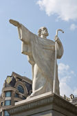 Monument of Saint Andrew apostle — Stock Photo