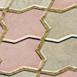 Stock Photo: Tile pattern of figured brick pavement