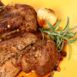 Roast pork - Stockfoto