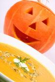 Pumpkin soup — Stock fotografie