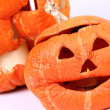 Stock Photo: Jack-o-lanterns