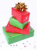 Pila de regalos — Foto de Stock