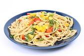 野菜のスパゲッティ — ストック写真