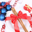 Christmas or New Year's setting — Stock Photo #4449574