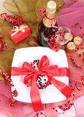 Valentine's setting — Foto de Stock
