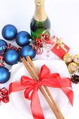 рождество или новый год параметр — Стоковое фото