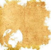 Aged Europe map — Stock Photo
