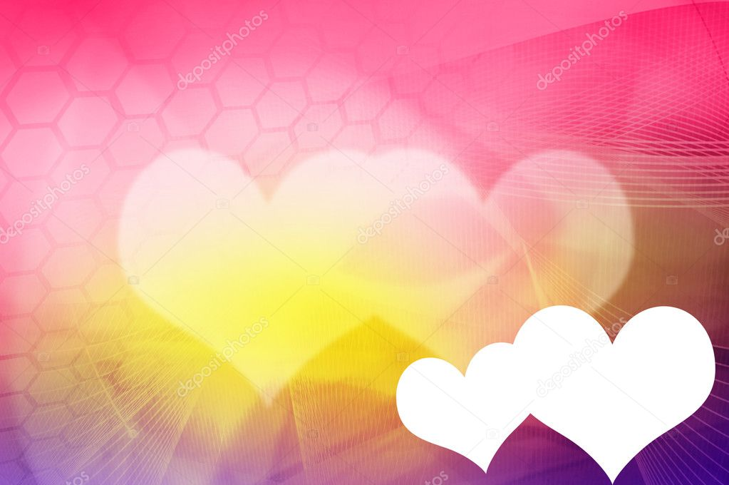 Sweetheart background - perfect background with space — Stock Photo #4309575