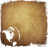 America map — Stock Photo
