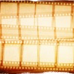 efecto Grunge película marco — Foto de Stock   #4590691