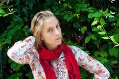 Güzel genç kadın — Stok fotoğraf