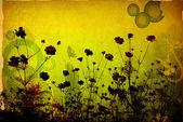 花卉抽象 — 图库照片