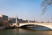 Tournelle Bridge in English — Stock Photo