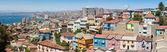 Panoramic view on Valparaiso — Stock Photo