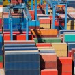 Cargo freight containers — Stock Photo