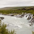 Stock Photo: Hraunfossar Waterfall - Iceland