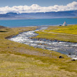 Iceland view - Unadsdalur — Stock Photo