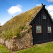 Old wooden church, Iceland at Vidimyri — Foto Stock