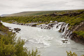 Hraunfossar Waterfall - Iceland — Stock Photo