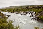 Hraunfossar Waterfall - Iceland — Stock Photo