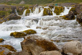 Dynjandi waterfall - Iceland. — Stock Photo