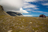 South east part of Iceland - Hvalnes cliffs — Stock Photo