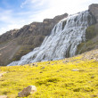 Westfjords - Dynjandi waterfall, Iceland — Stock Photo