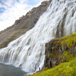 Stock Photo: Big and beauty Dynjandi waterfall - Westfjords, Iceland