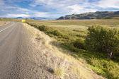 Asphalt route - Iceland. — Stock Photo